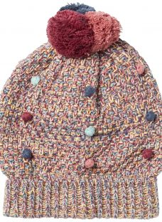 Fat Face Children's Mini Bobble Beanie Hat
