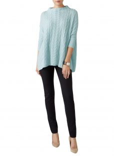 Pure Collection Cashmere Lofty Cable Knit Jumper
