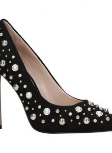 Carvela Alabaster Embellished Court Shoes