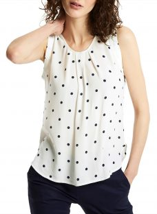 Joules Alyse Spot Print Top