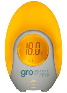 Gro Company Gro Egg Baby Thermometer and Night Light