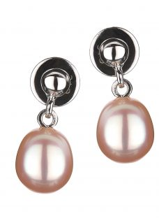 EWA Freshwater Pearl Drop Earrings