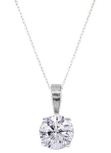 EWA Diamond Pendant Necklace