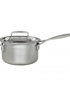 Le Creuset 3-Ply Stainless Steel Lidded Saucepans