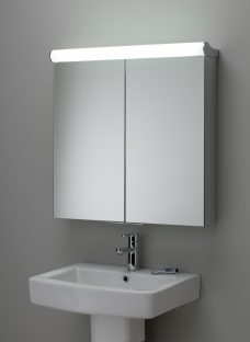 Roper Rhodes Latitude Illuminated Double Bathroom Cabinet with Double-Sided Mirror