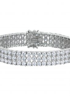 Jools by Jenny Brown 3 Row Tennis Bracelet