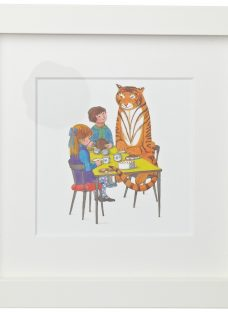 Judith Kerr - Tea With Tiger Framed Print