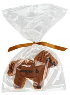 Image on Food Personalised Happy Birthday Horse Gingerbread