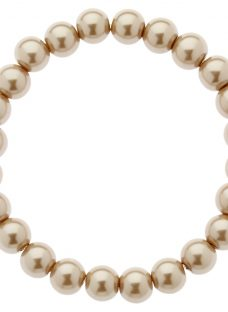 Finesse Classic 8mm Faux Pearl Stretch Bracelet