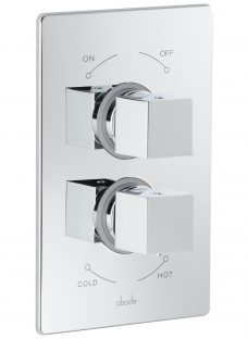 Abode Euphoria Serenitie Thermostatic 2 Exit Concealed Shower Mixer