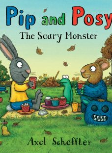 Pip and Posy: The Scary Monster Book