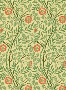Morris & Co Sweet Briar Wallpaper