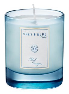 Shay & Blue Blood Oranges Natural Scented Wax Candle