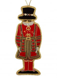 Tinker Tailor Tourism Beefeater Hanging Decoration