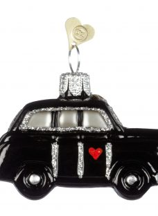 Bombki Tourism Little London Taxi Glass Hanging Decoration