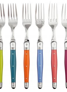 Laguiole by Jean Dubost Iridescence Table Fork