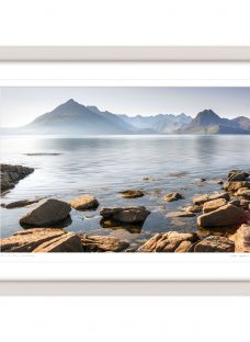 Mike Shepherd - The Cuillin Mountains Framed Print
