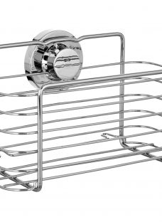 Bliss Lock N Roll Rectangular Suction Shower Basket