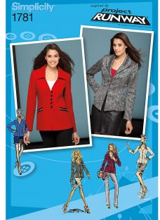 Simplicity Jackets Project Runway Collection Sewing Leaflet