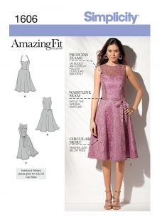 Simplicity Amazing Fit Occasion Dress Sewing Pattern