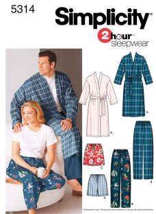Simplicity 2 Hour Sleepwear Sewing Leaflet