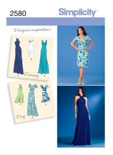 Simplicity Dress & Gown Sewing Pattern