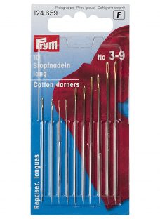Prym Assorted Long Cotton Darning Needles