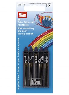 Prym Assorted Embroidery and Pearl Sewing Needles