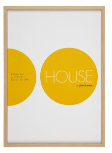 House by John Lewis Photo Frame