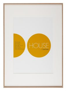 House by John Lewis Aluminium Photo Frame