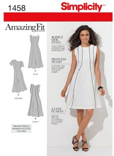 Simplicity Amazing Fit Dress Sewing Pattern
