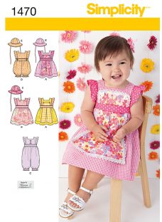 Simplicity Children's Dresses & Rompers Sewing Pattern