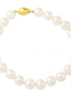 A B Davis 9ct Freshwater Cultured Pearl Bracelet