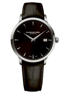 Raymond Weil 5488-STC-20001 Toccata Men's Leather Strap Watch