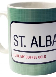 A Piece Of Personalised Street Sign Mug