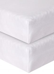 John Lewis Fitted Cotbed Sheets