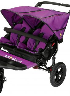 Out 'N' About Nipper 360 Double V4 Pushchair