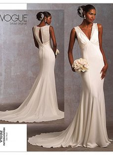 Vogue Bridal Women's Gown Sewing Pattern
