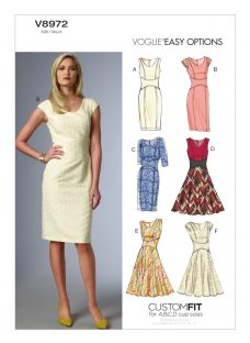 Vogue Women's Dresses Sewing Pattern