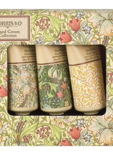 Heathcote & Ivory Morris & Co Golden Lily Hand Cream Collection Gift Set