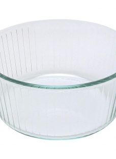 Pyrex Glass Round Souffle Oven Dish