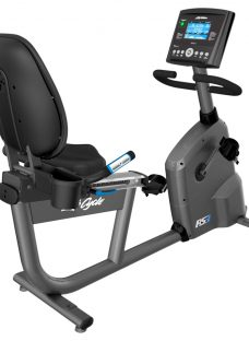 Life Fitness RS3 Lifecycle Recumbent Exercise Bike with Go Console
