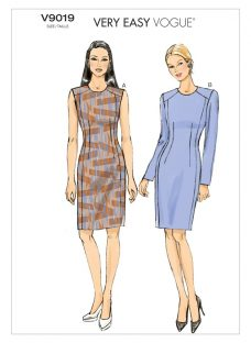 Vogue Very Easy Women's Dress Sewing Pattern