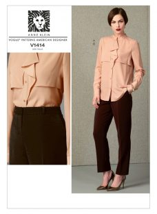 Vogue Anne Klein Women's Top and Trousers Sewing Pattern