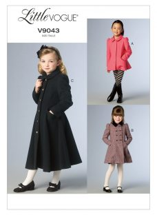 Little Vogue Girls' Coat and Jacket Sewing Pattern