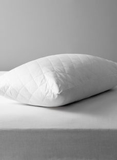 John Lewis Natural Cotton Quilted Standard Pillow Protector