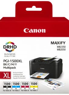 Canon PGI-1500XL Colour Ink Cartridge Multipack