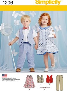 Simplicity Children's Top and Trousers Sewing Pattern