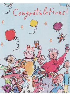 Woodmansterne Group Of People Congratulations Card
