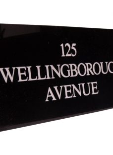 The House Nameplate Company Personalised Granite House Sign